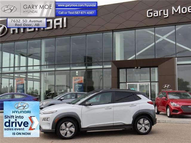 2021 Hyundai Kona EV Preferred w/Two Tone (Stk: 1KN6453) in Red Deer - Image 1 of 11