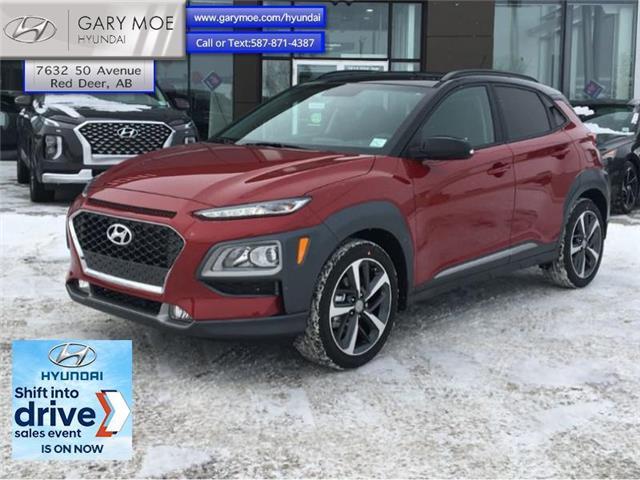 2021 Hyundai Kona 1.6T Trend AWD w/ Two-tone (Stk: 1KN3948) in Red Deer - Image 1 of 1