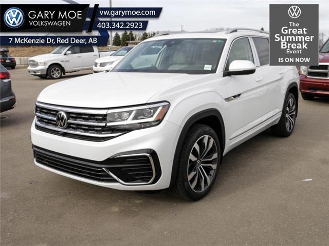 2021 Volkswagen Atlas Execline 3.6 FSI (Stk: 1AT4192) in Red Deer County - Image 1 of 16