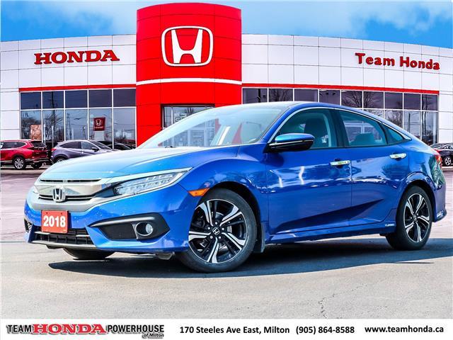 2018 Honda Civic Touring (Stk: 3877) in Milton - Image 1 of 30
