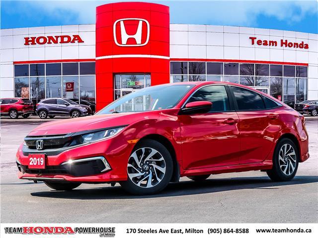 2019 Honda Civic EX (Stk: 3884) in Milton - Image 1 of 27