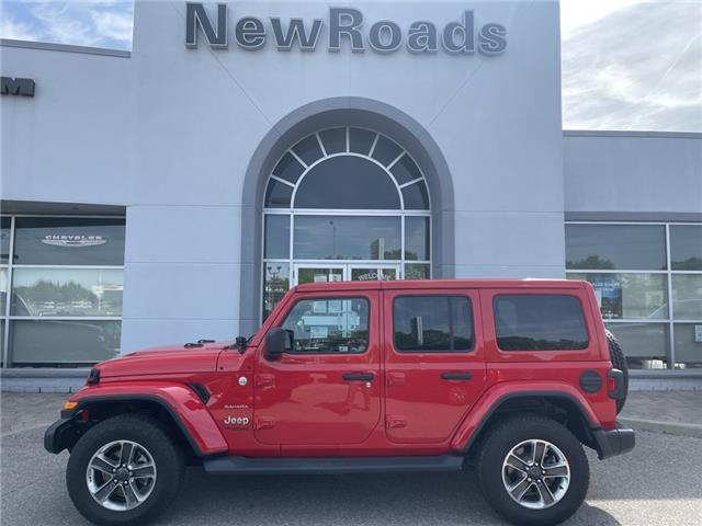 2020 Jeep Wrangler Unlimited Sahara (Stk: 25585P) in Newmarket - Image 1 of 18