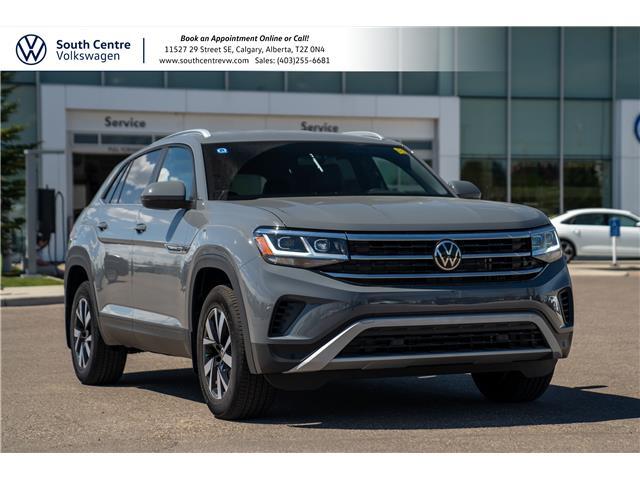 2021 Volkswagen Atlas Cross Sport 2.0 TSI Comfortline (Stk: 10287) in Calgary - Image 1 of 41
