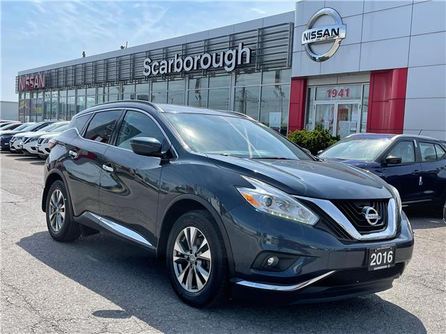 2016 Nissan Murano SV (Stk: L21009A) in Scarborough - Image 1 of 8
