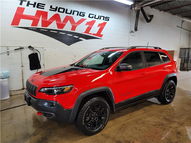 2019 Jeep Cherokee Trailhawk (Stk: 650143A) in Orillia - Image 1 of 27