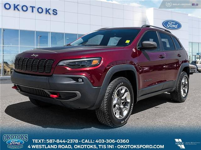 2019 Jeep Cherokee Trailhawk (Stk: B84151) in Okotoks - Image 1 of 26