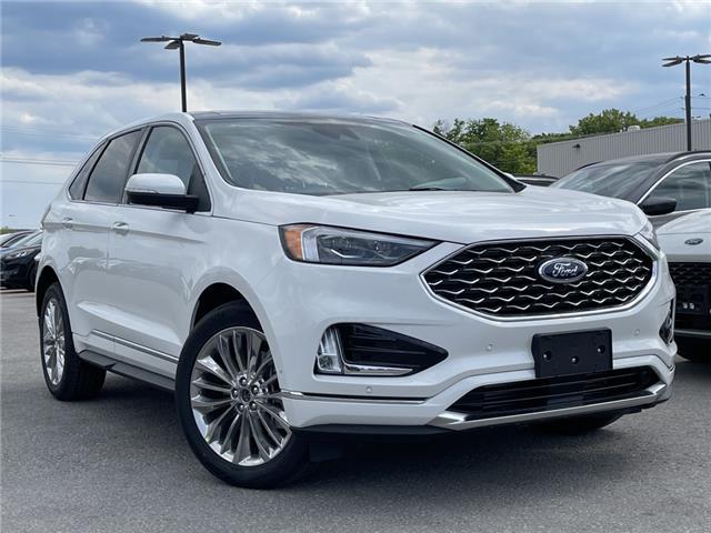2021 Ford Edge Titanium (Stk: 21T420) in Midland - Image 1 of 16
