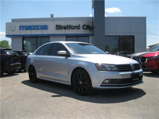 2016 Volkswagen Jetta 1.8 TSI Comfortline (Stk: 00629A) in Stratford - Image 1 of 19
