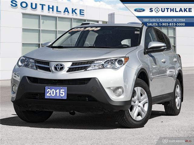 2015 Toyota RAV4 LE (Stk: P51741) in Newmarket - Image 1 of 27