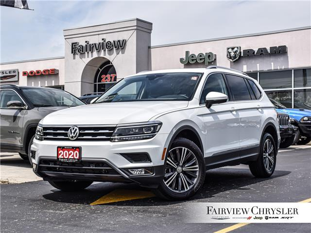 2020 Volkswagen Tiguan Highline (Stk: U18659) in Burlington - Image 1 of 31