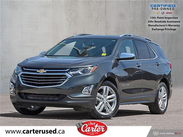 2018 Chevrolet Equinox Premier (Stk: 53221U) in Calgary - Image 1 of 27