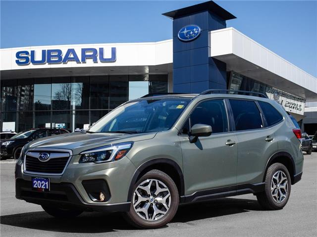 2021 Subaru Forester 2.5i Convenience CVT >>No accident<< (Stk: 21D01) in Toronto - Image 1 of 18