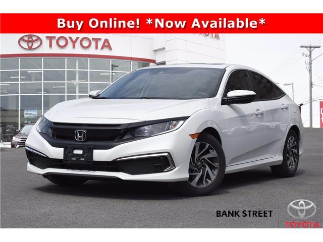 2020 Honda Civic EX (Stk: 19-29149A) in Ottawa - Image 1 of 23