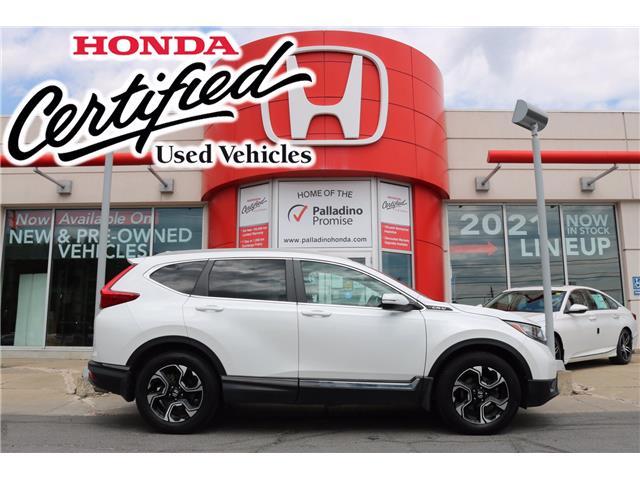 2019 Honda CR-V Touring (Stk: U10028) in Greater Sudbury - Image 1 of 36