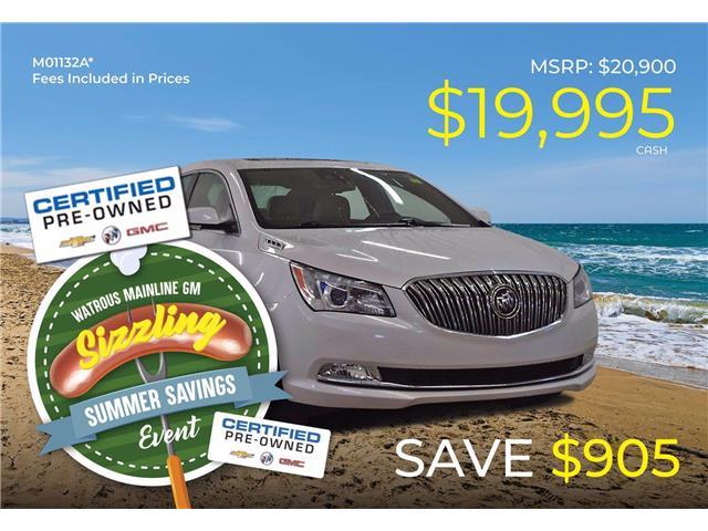 2016 Buick LaCrosse Premium I 1G4GE5G35GF124409 M01132A in Watrous