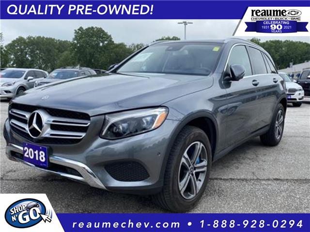 2018 Mercedes-Benz GLC 350e Base (Stk: P-4603) in LaSalle - Image 1 of 24