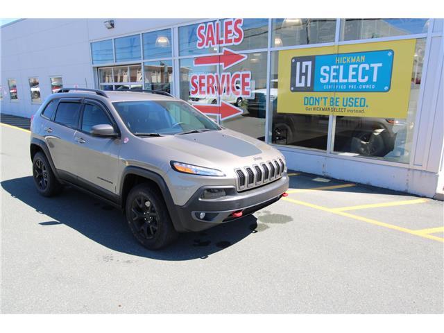 2017 Jeep Cherokee Trailhawk (Stk: PW2771) in St. John's - Image 1 of 21