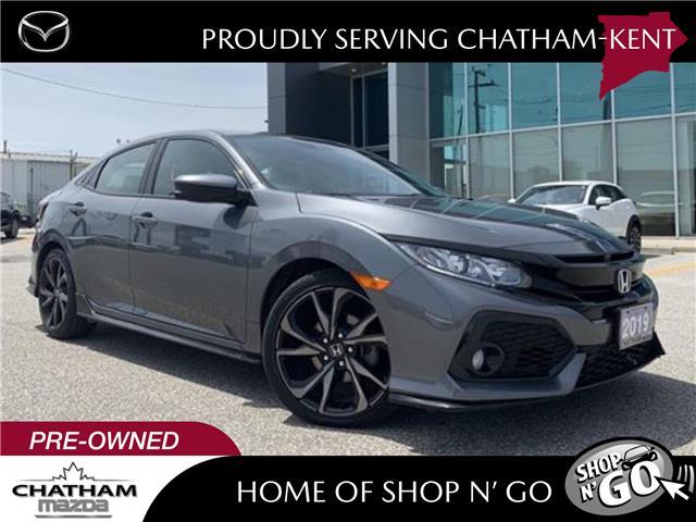 2019 Honda Civic Sport (Stk: UM2630) in Chatham - Image 1 of 26