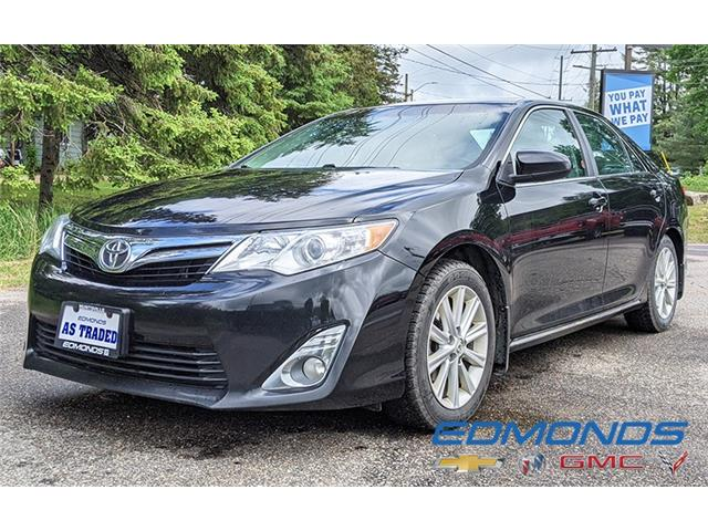 2013 Toyota Camry XLE V6 (Stk: 1310A) in Huntsville - Image 1 of 13
