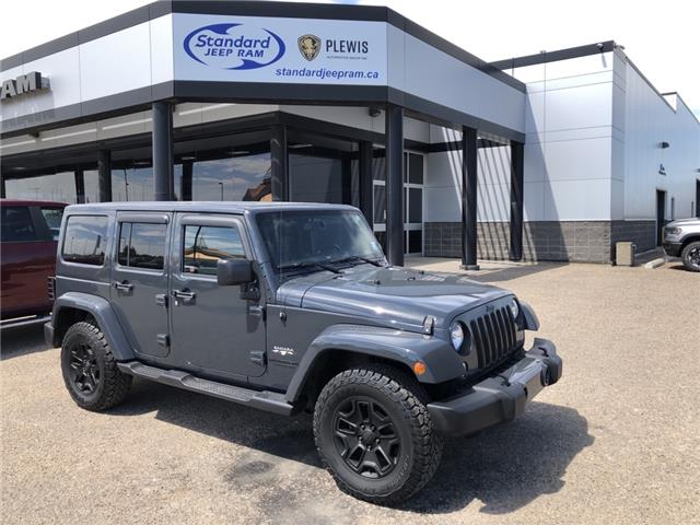 2016 Jeep Wrangler Unlimited Sahara (Stk: 5M054A) in Medicine Hat - Image 1 of 22