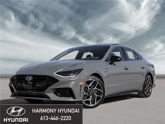 2021 Hyundai Sonata N Line (Stk: 21203) in Rockland - Image 1 of 23