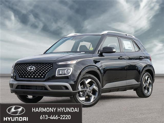 2021 Hyundai Venue Ultimate w/Black Interior (IVT) (Stk: 21285) in Rockland - Image 1 of 10