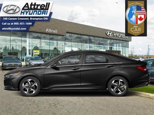 2021 Hyundai Elantra Ultimate IVT w/Grey Seats (Stk: 37428) in Brampton - Image 1 of 1