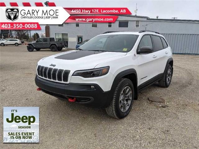 2021 Jeep Cherokee Trailhawk (Stk: F212519) in Lacombe - Image 1 of 20