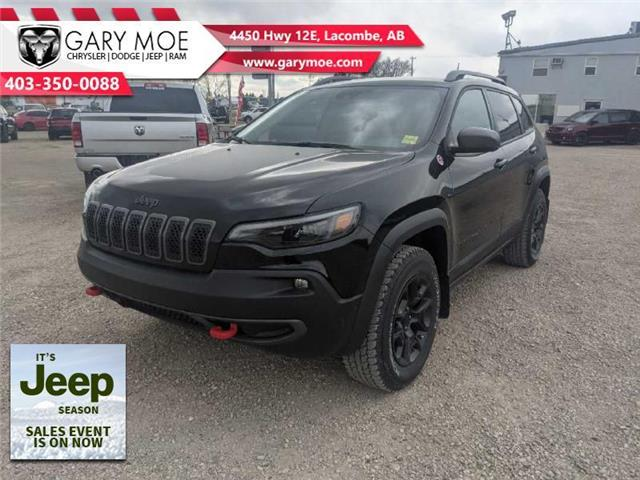 2021 Jeep Cherokee Trailhawk (Stk: F212650) in Lacombe - Image 1 of 19