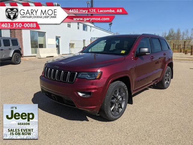 2021 Jeep Grand Cherokee Limited (Stk: F212668) in Lacombe - Image 1 of 18