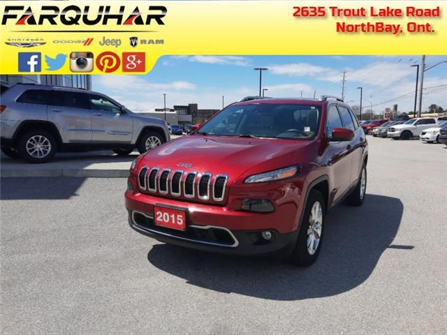 2015 Jeep Cherokee Limited (Stk: 21196A) in North Bay - Image 1 of 30
