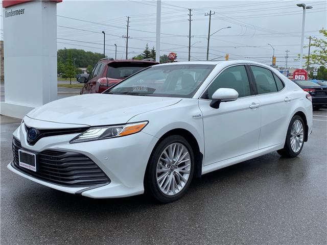 2018 Toyota Camry Hybrid XLE (Stk: CX045A) in Cobourg - Image 1 of 1