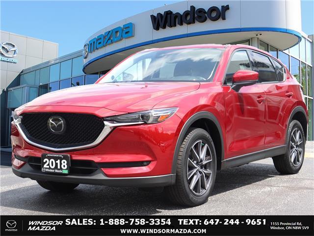 2018 Mazda CX-5 GT (Stk: TR8650) in Windsor - Image 1 of 26