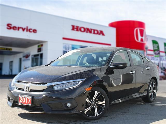 2017 Honda Civic Touring (Stk: L21-131) in Vernon - Image 1 of 17