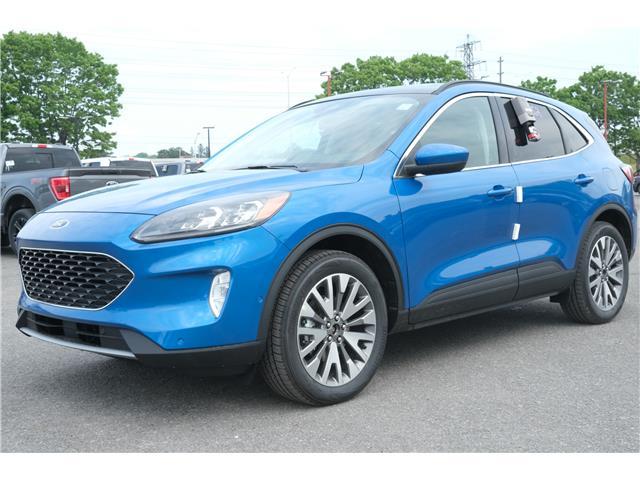 2021 Ford Escape Titanium Hybrid (Stk: 2103500) in Ottawa - Image 1 of 16