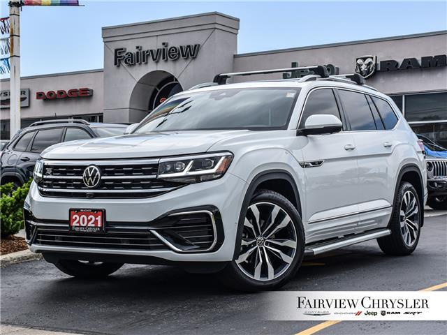 2021 Volkswagen Atlas 3.6 FSI Execline (Stk: U18663) in Burlington - Image 1 of 35