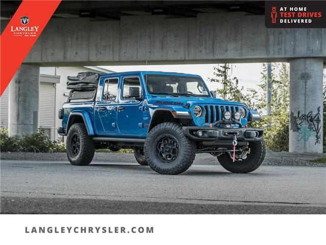 2021 Jeep Gladiator Rubicon (Stk: M538575) in Surrey - Image 1 of 30