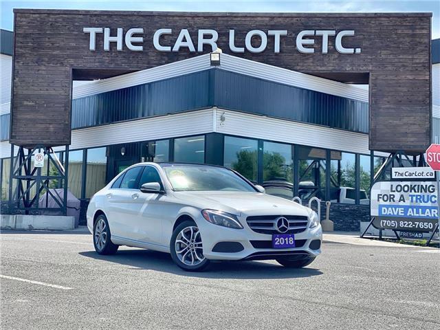 2018 Mercedes-Benz C-Class Base (Stk: 21275) in Sudbury - Image 1 of 28
