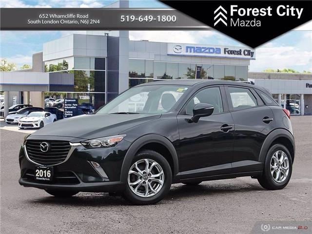 2016 Mazda CX-3 GS (Stk: 21C54463A) in London - Image 1 of 26