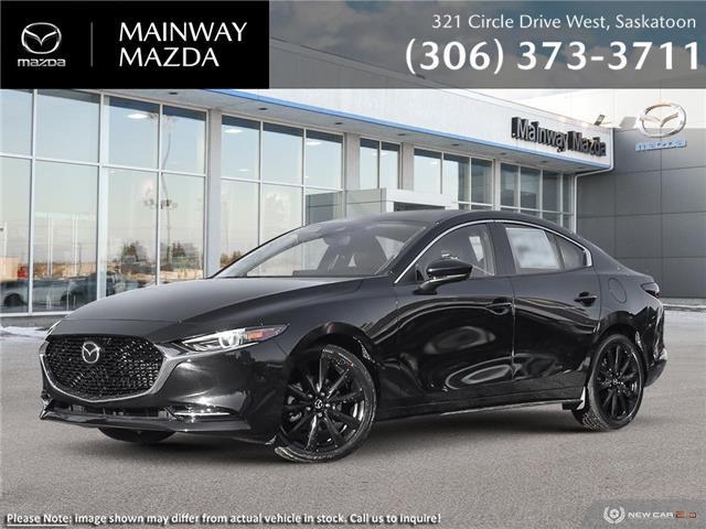 2021 Mazda Mazda3 GT w/Turbo Auto i-ACTIV (Stk: M21355) in Saskatoon - Image 1 of 22