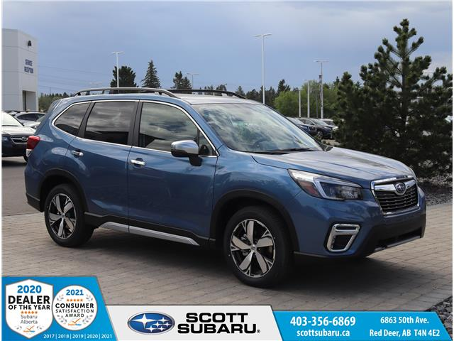 2021 Subaru Forester Premier (Stk: 528284) in Red Deer - Image 1 of 36