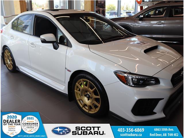 2021 Subaru WRX STI Sport-tech w/Wing (Stk: 801676) in Red Deer - Image 1 of 23