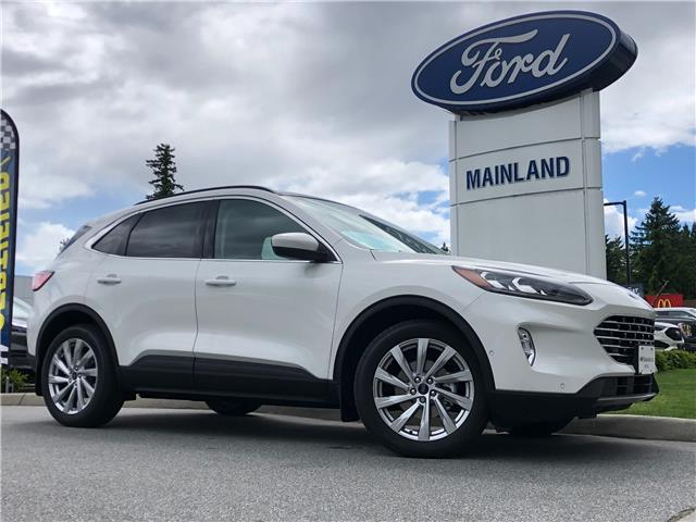 2021 Ford Escape Titanium Hybrid (Stk: 21ES9802) in Vancouver - Image 1 of 30