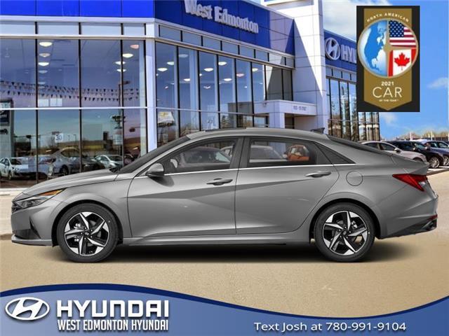 2021 Hyundai Elantra N Line (Stk: EL10942T) in Edmonton - Image 1 of 1