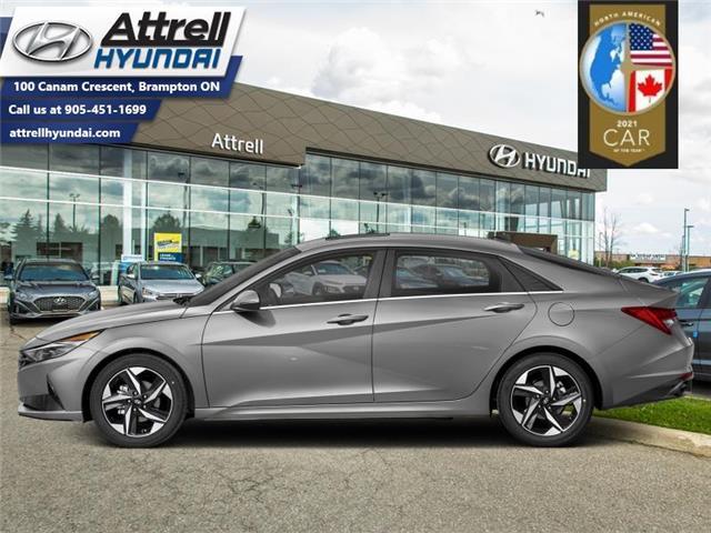 2021 Hyundai Elantra Ultimate IVT w/Grey Seats (Stk: 37446) in Brampton - Image 1 of 1