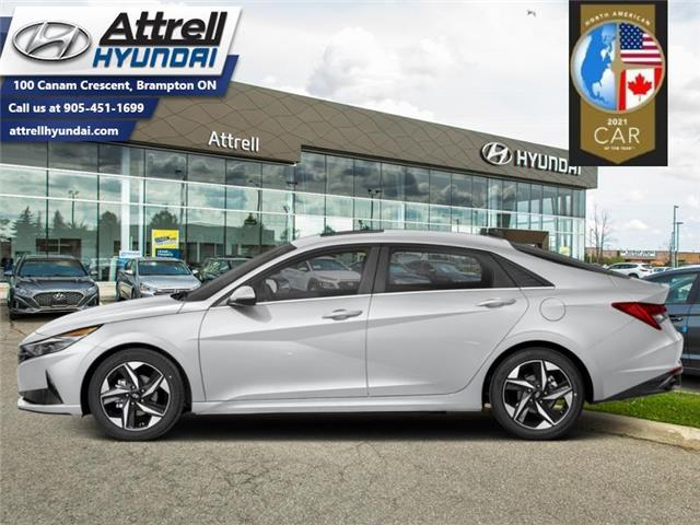2021 Hyundai Elantra Ultimate  Tech IVT (Stk: 37447) in Brampton - Image 1 of 1