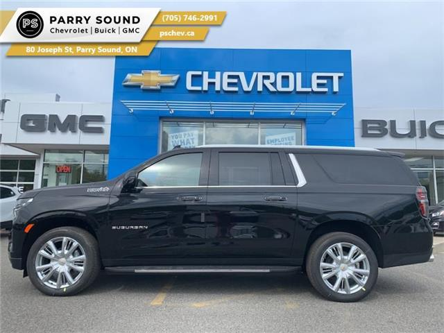 2021 Chevrolet Suburban High Country (Stk: 21-175) in Parry Sound - Image 1 of 23