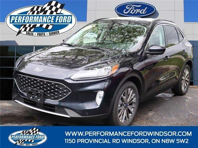2021 Ford Escape Titanium Hybrid (Stk: ES44786) in Windsor - Image 1 of 16