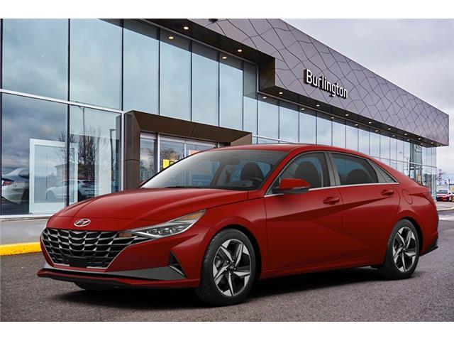 2021 Hyundai Elantra Preferred w/Sun & Tech Pkg (Stk: N3114) in Burlington - Image 1 of 3