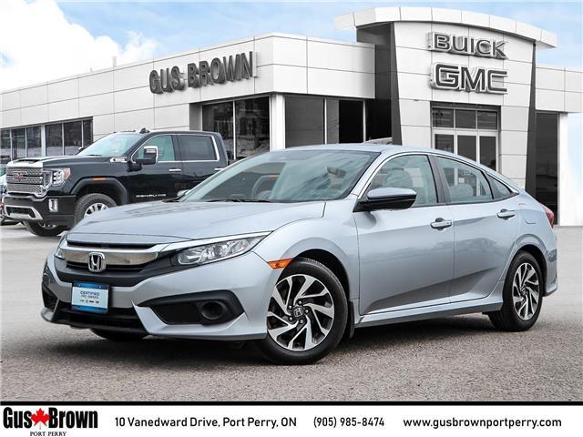 2018 Honda Civic EX (Stk: 021670U) in PORT PERRY - Image 1 of 27